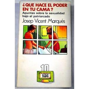 Portada del libro ¿qué hace l poder en tu cama?