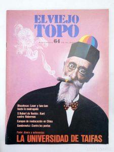 Portada de la revista El Viejo Topo 64, de enero de 1982