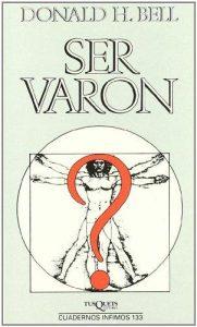 portada del libro Ser Varón