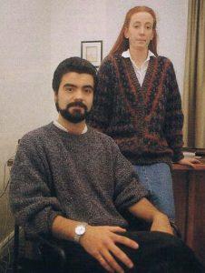 Fotografía de Fernando Villadangos en 1990