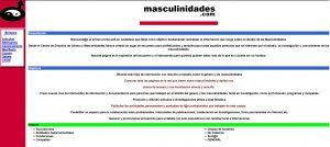 Captura de pantalla de masculidades.com 4/7/2002