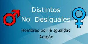 Logo Hombres por la Igualdad Aragón