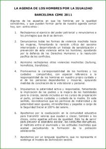 Captura de la agenda común