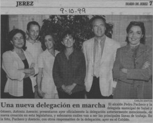 nota de prensa de Diario de Jerez del 09/10/1999