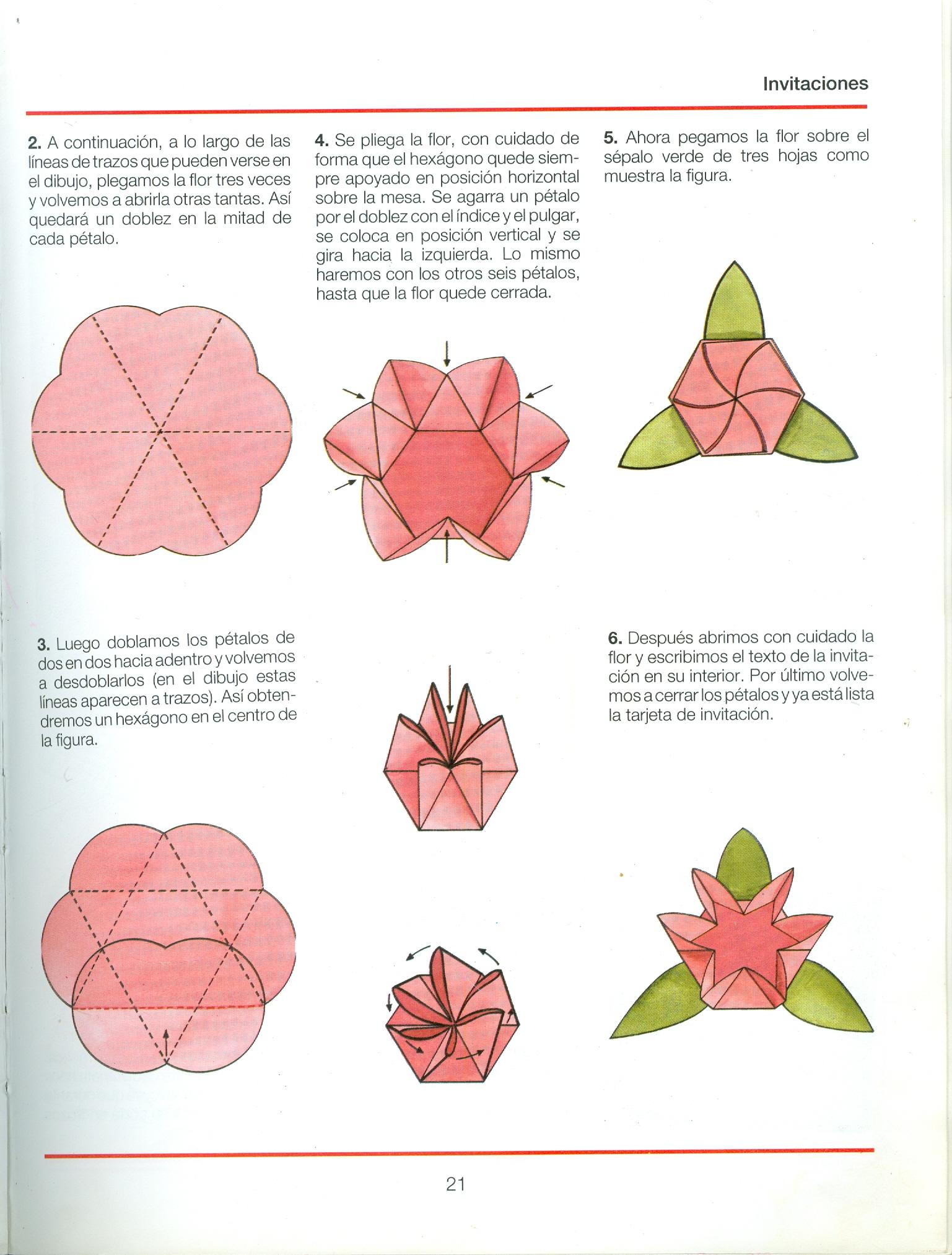 Origami de flores con instrucciones - Imagui - photo#25