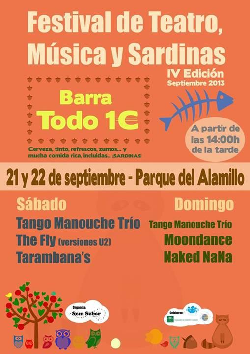 """IV Edición del festival """"Teatro, Música y Sardinas"""""""
