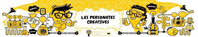 Portada de les personetes creatives