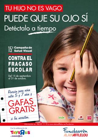 Cartel campaña Contra el fracaso escolar
