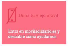 Dona tu viejo móvil en http://www.movilsolidario.es/ y ayuda a la Fundación Stop SanFilippo