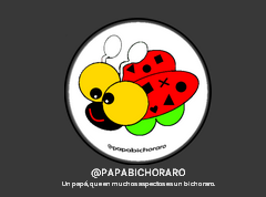 Logo Papá Bicho Raro