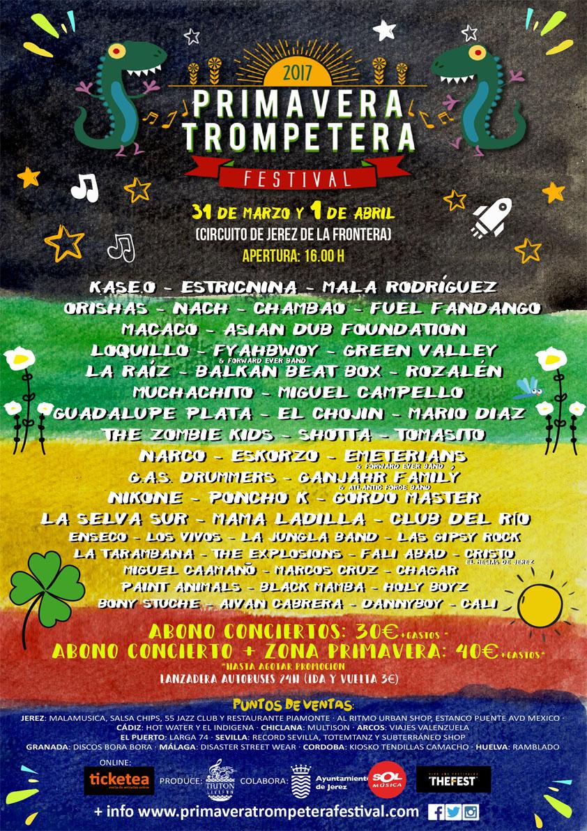 Cartel de la Primavera Trompetera 2017